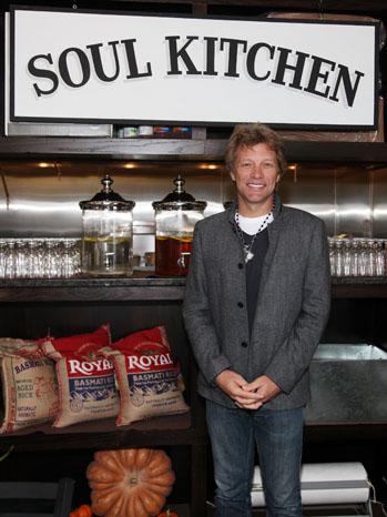"""Rocker Jon Bon Jovi opened Soul Kitchen, a """"Pay What You Can"""" restaurant."""