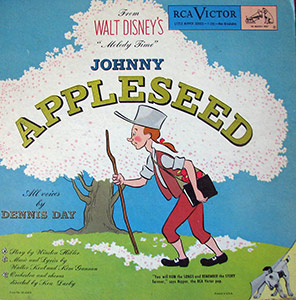 johnny-appleseed_disney album