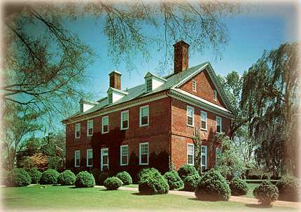 Berkeley Plantation, Harrison's actual birthplace.