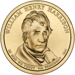 William_Henry_Harrison_Presidential_$1_Coin_obverse