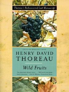 "Henry David Thoreau's Wild Fruits, published posthumously, contains his essay ""Wild Apples"" and other writings on wild fruits."