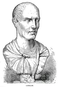 Roman politician Lucullus, gastronome of the first order.
