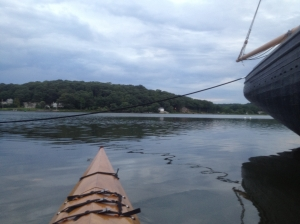 Pequot Hill from my kayak.