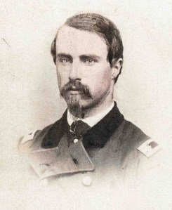 Major Thomas Hyde, whose 7th Maine suffered more than 50% casualties in the Piper Orchard that day.