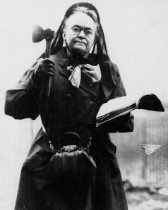 Carrie Nation may have used her axe on a number of saloons, but she can't take credit for the demise of the cider apple.